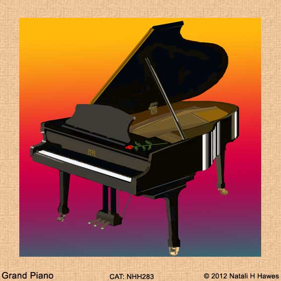 Grand Piano by Nat H H