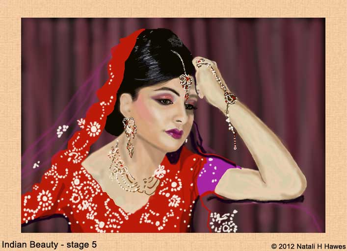 Indian Beauty stage 5 by Nat H H