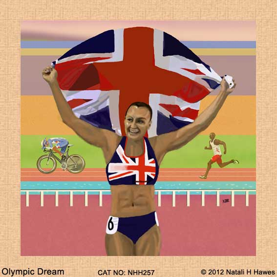 Olympic Dream by Nat H H