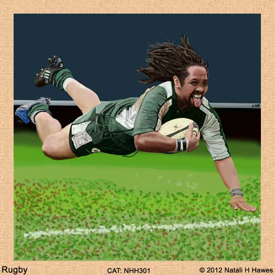Rugby by Nat H H